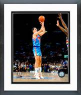 Brooklyn Nets Drazen Petrovic 1990-1991 Action Framed Photo