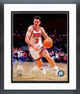 Brooklyn Nets Drazen Petrovic 1991 Action Framed Photo