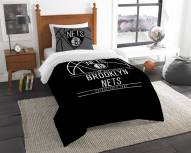Brooklyn Nets Reverse Slam Twin Comforter Set