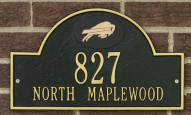 Buffalo Bills NFL Personalized Address Plaque - Black Gold