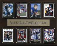 "Buffalo Bills 12"" x 15"" All-Time Greats Plaque"