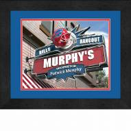 Buffalo Bills 13 x 16 Personalized Framed Sports Pub Print