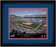 Buffalo Bills 13 x 16 Personalized Framed Stadium Print