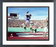 Buffalo Bills Andre Reed 1990 Action Framed Photo