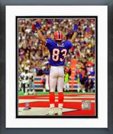 Buffalo Bills Andre Reed 1998 Action Framed Photo