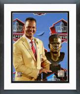 Buffalo Bills Andre Reed 2014 Hall of Fame Induction Ceremony Framed Photo