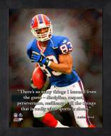 Buffalo Bills Andre Reed Framed Pro Quote