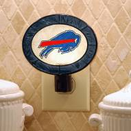 Buffalo Bills Art Glass Night Light