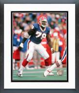 Buffalo Bills Bruce Smith Action Framed Photo