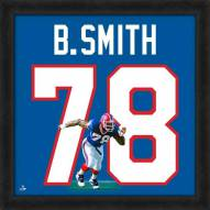 Buffalo Bills Bruce Smith Uniframe Framed Jersey Photo