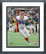 Buffalo Bills Bryce Paup Action Framed Photo