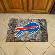 Buffalo Bills Camo Scraper Door Mat