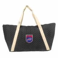 Buffalo Bills Crest Chevron Weekender Bag