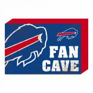 Buffalo Bills Fan Cave Wooden Plock