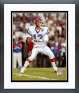 Buffalo Bills Jim Kelly Super Bowl XXV 1991 Action Framed Photo