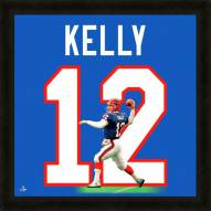 Buffalo Bills Jim Kelly Uniframe Framed Jersey Photo