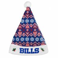 Buffalo Bills Knit Santa Hat