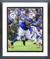 Buffalo Bills Marcell Dareus 2014 Action Framed Photo