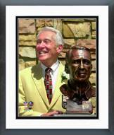 Buffalo Bills Marv Levy 2001 NFL Hall of Fame Induction Ceremony Framed Photo