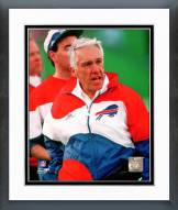 Buffalo Bills Marv Levy Coach Framed Photo