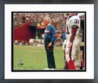 Buffalo Bills Marv Levy Framed Photo