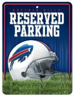 Buffalo Bills Metal Parking Sign