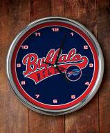 Buffalo Bills NFL Chrome Wall Clock
