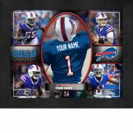 Buffalo Bills Personalized Framed Action Collage