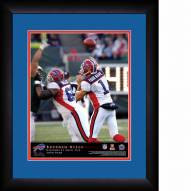 Buffalo Bills Personalized 13 x 16 NFL Action QB Framed Print