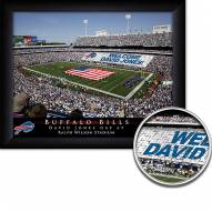Buffalo Bills Personalized Framed Stadium Print