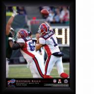Buffalo Bills Personalized NFL Action QB Framed Print
