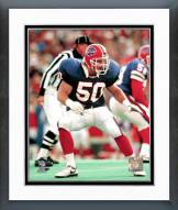 Buffalo Bills Ray Bentley Action Framed Photo