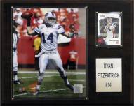 "Buffalo Bills Ryan Fitzptarick 12 x 15"" Player Plaque"