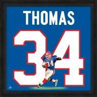 Buffalo Bills Thurman Thomas Uniframe Framed Jersey Photo