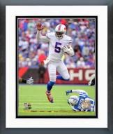 Buffalo Bills Tyrod Taylor 2015 Action Framed Photo