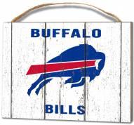 Buffalo Bills Weathered Logo Small Plaque