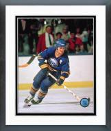 Buffalo Sabres Gilbert Perreault Action Framed Photo