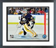 Buffalo Sabres Robin Lehner 2015-16 Action Framed Photo