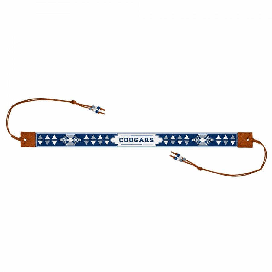 BYU Cougars Beaded Headwrap