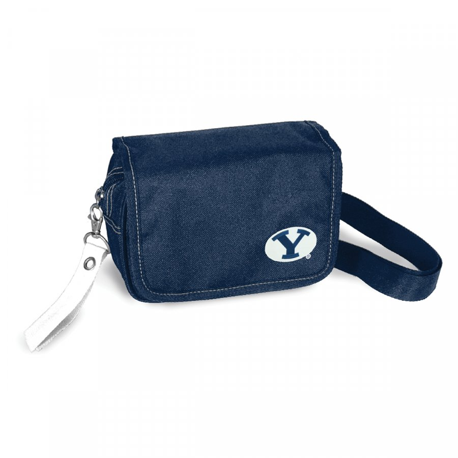 BYU Cougars Ribbon Waist Pack Purse