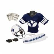 BYU Cougars NCAA Youth Helmet and Uniform Set by Franklin - Small
