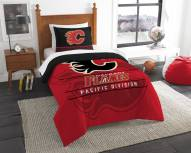 Calgary Flames Draft Twin Comforter Set