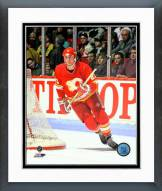 Calgary Flames Joe Nieuwendyk Action Framed Photo