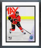 Calgary Flames Mark Giordano 2014-15 Action Framed Photo