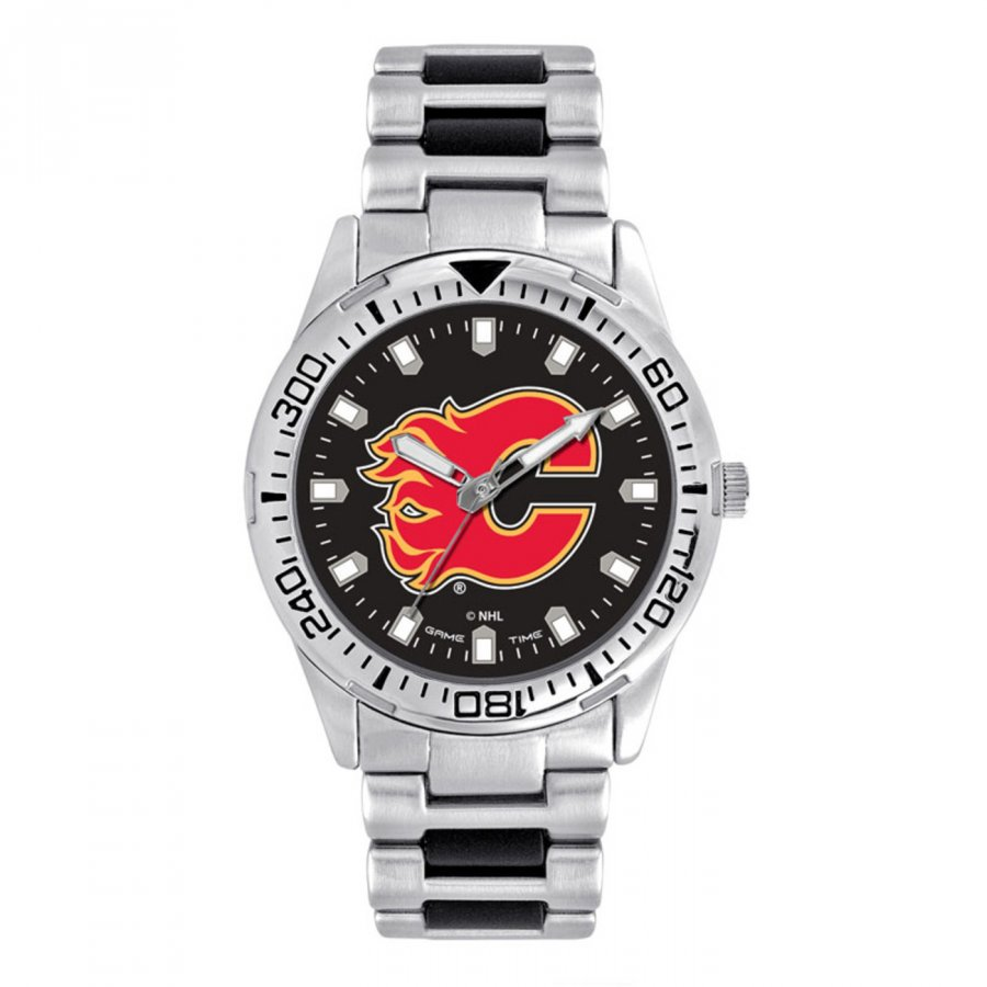 Calgary Flames Men's Heavy Hitter Watch
