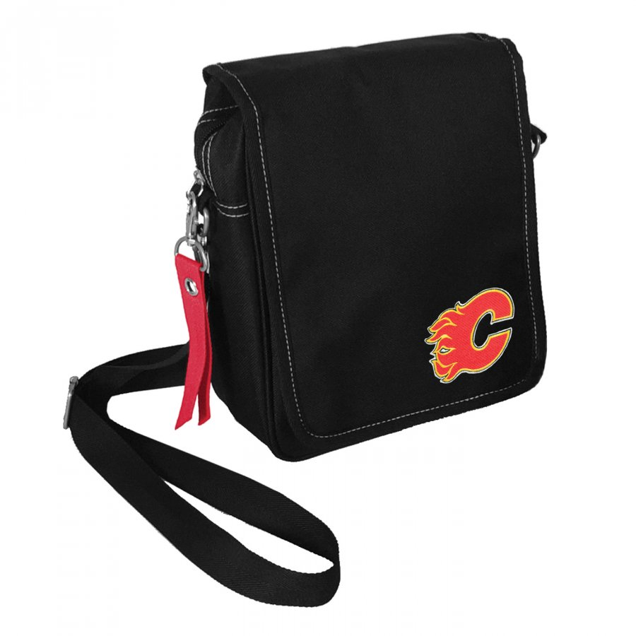 Calgary Flames Ribbon Satchel