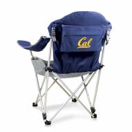 California Golden Bears Navy Reclining Camp Chair