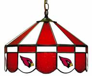 "Arizona Cardinals NFL Team 16"" Diameter Stained Glass Pub Light"