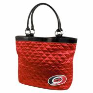 Carolina Hurricanes Quilted Tote Bag