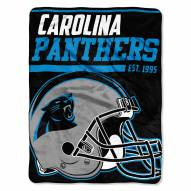 Carolina Panthers 40 Yard Dash Blanket